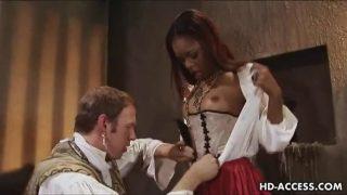 Ebony Porn XXX Max Mikita Riding Hard Anal Sex