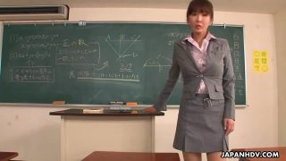 Hot Asian Teacher Using Students For Sex