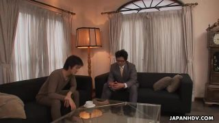 Aoi Miyama Gets Rammed By Two Neighbors