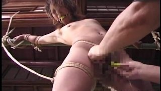 Japanese Woman Tied Up Restrained Dildo