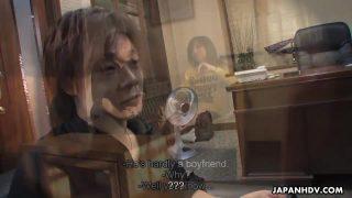 Misaki Aiba Gets Her Hot Bush Pounded