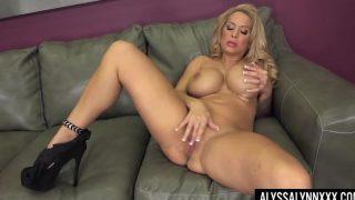 Alyssa Lynn In Porn Xxx Disco Tits!