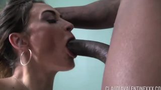 Hot Latin PornStar Takes Black Cock Deep