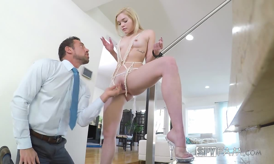 Step Dad Shows Daughter