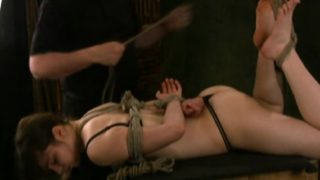 Hogtied Maya In A Top Rated Bondage Video
