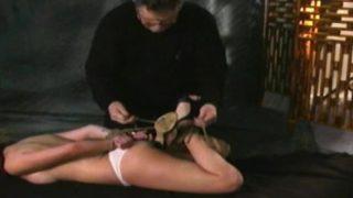Bondage Scene With Horny Slave Cecilia